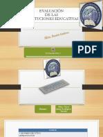 Evaluacion de Las Inst Educativas