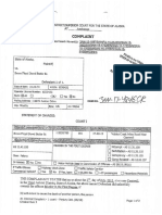Bruce Butler Charging Documents