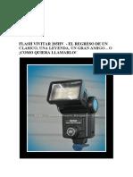 FLASH VIVITAR 285HV - Descripción - Castellano