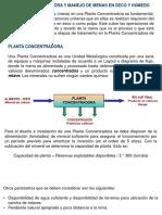 02Planta Concentradora y Manejo de Menas