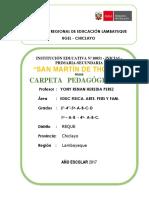 Carpeta Pedagogica Smt -2017