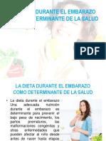 La Dieta Durante El Embarazo