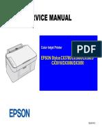 epson stylus cx3700 cx3800 cx3805 cx3810 dx 3800 dx3850 color inkjet printer service repair manual