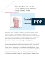 CASE IN POINT service of summons.docx