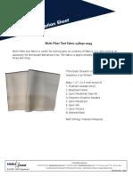 Multi Fiber Fabric