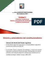 Clase Derecho Constitucional Unidad 1 Bis