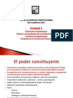 Clase Derecho Constitucional Unidad 1 Ter