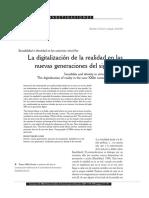 La Digitalizacion De La Realidad En Las Nuevas Generacione.pdf