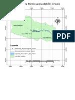 Mapa General de La Microcuenca Del Rio Chulco