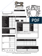 C&S the Rebirth (4th Ed.) - Character Sheet