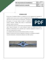 Almacen Procesos de Manufactura Informe1