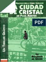 Auster Paul Ciudad de Cristal Comic 3