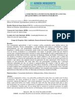 A Meliponicultura Como Prática Sustentável Produtiva Em Uma Comunidade Quilombola Do Sertão Paraibano