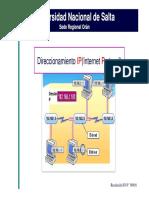 Curso Direccionamiento IP Clase1