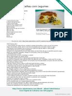 Canelones de Bacalhau Com Legumes SaborIntenso
