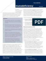 Immunodeficiency Briefing