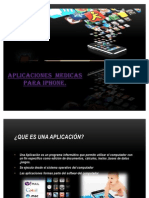 Aplicaciones Medicas iPhone...