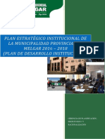 PLAN ESTRATÉGICO INSTITUCIONAL DE LA MUNICIPALIDAD PROVINCIAL DE MELGAR 2016 – 2018.pdf
