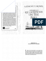 101 Questions on the Bible - Raymond Brown