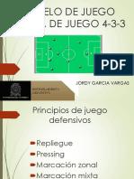 Modelo de Juego Sistema 4 3 3