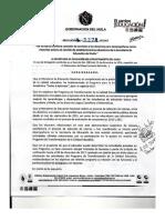 DECRETO COMISIÓN