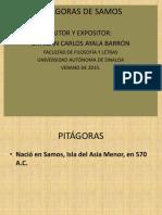 Pitágoras Diapositivas