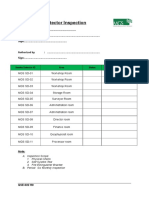 QSE-022 Smoke Detector Inspection