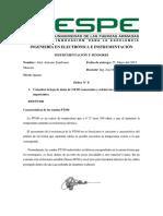 Características de 2 RTD