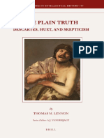 BSIH 170 Lennon] - The Plain Truth_Descartes, Huet, and Skepticism.pdf