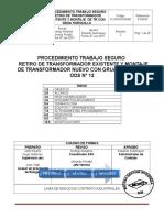 P-LNCIZNOM- 90 (REV 2) PEROCEDIMIENTO Montaje de Transformadores Con Grúa Horquilla