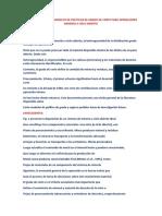 Una Revisión de Los Modelos de Políticas de Grado de Corte Para Operaciones Mineras a Cielo Abierto