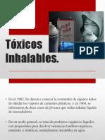Tóxicos Inhalables y Marihuana
