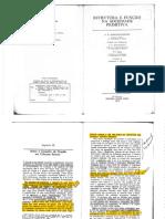 Estrutura e Função Na Soc Primitiva - Radcliffe Brown