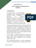 116026436 Practicanº 07 Preparacion de Jarabe y Elaboracion de Gaseosa