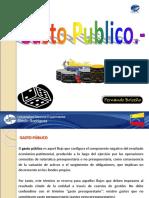 Finanzas Públicas (Tema 05) Gasto Publico