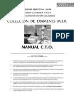 Cuadernillo MIR 1999 Especialidaeds