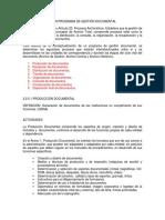 pgd definicion activdades