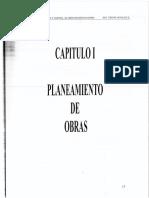 Cap.i. Planeamiento de Obras