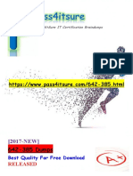 New Pass4itsure Cisco 642-385 Dumps PDF - Cisco Express Foundation for Field Engineers
