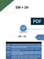 5W + 1H (Gestión de calidad)
