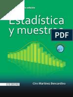 Estadistica y Muestreo 13ra Edición