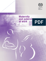 Maternity and Paternity at Work