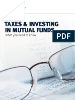 Taxes and Investing in Mutual Funds Canada