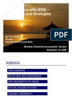 Convergence of IFRS- Challenges and Strategies