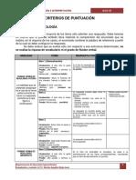 3 Criterios de Puntuacin- Bloc