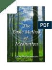 Ajahn Brahm - The Basic Method of Meditation.pdf