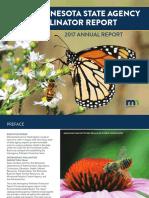 2017 Minnesota State Agency Pollinator Report