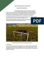 Diseño Del Sistema de Movimiento de panel fotovoltaico