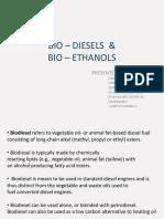 Bio – Diesels