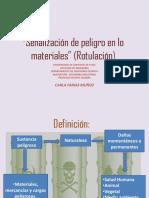 Ppt Señalización de Peligro en Lo Materiales